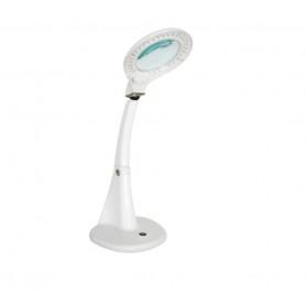 Lampada 60 LED da tavolo con lente