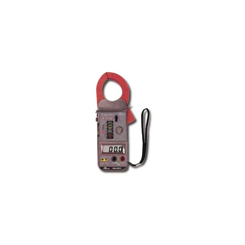 Lutron DM-6055 CA Pinza Amperometrica (ACA/DCA)