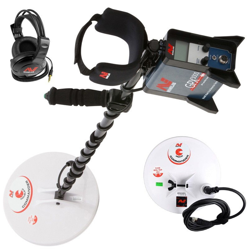 MINELAB GPX-5000 gold metal detector