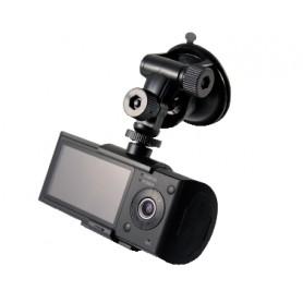 Camera-car con due telecamere fronte/retro e GPS per automezzi