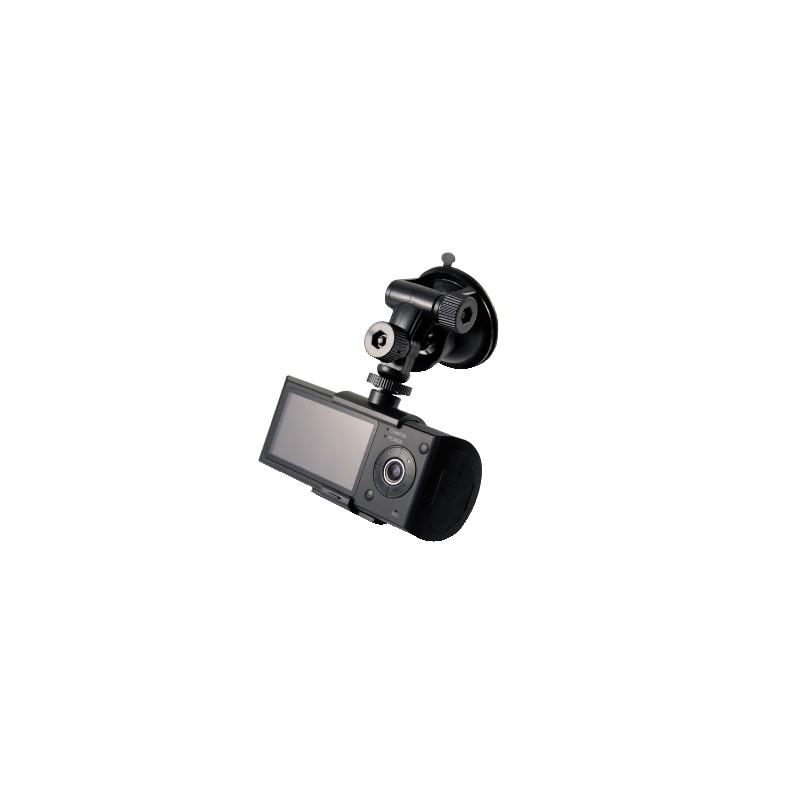 Videoregistrazione con due telecamere fronte/retro e GPS per automezzi