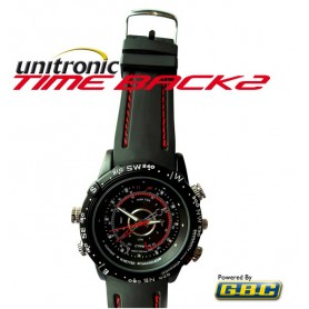 SpySport Watch TimeBack waterproof con videocamera invisibile