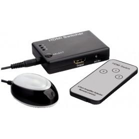 Mini-Switch HDMI 3 ingressi con supporto 3D