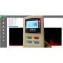 Misuratore di Campi Elettromagnetici BF RF Trimode con datalogger
