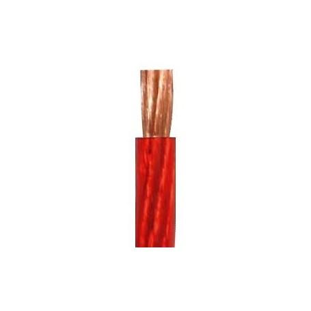 Cavo Unipolare 4mm ² Phonocar 4/309 PVC Rosso Trasparente