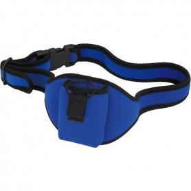 Marsupio blu da cintura porta-trasmettitori