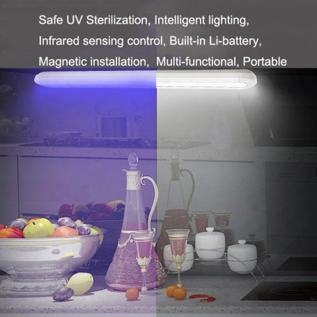 Lampada UV-C, UV LED sottopensile germicida smart